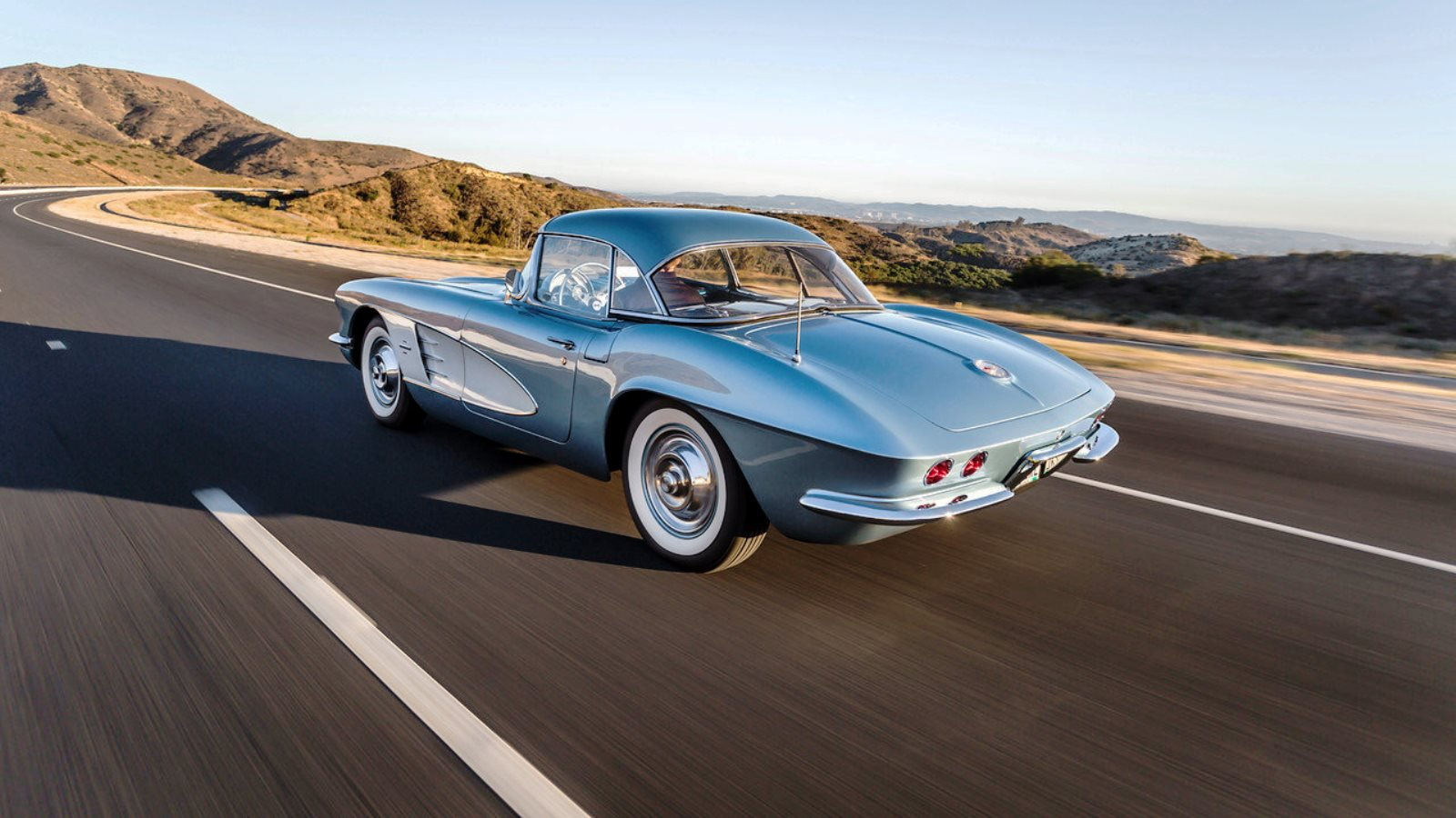 1961 Jewel Blue Corvette
