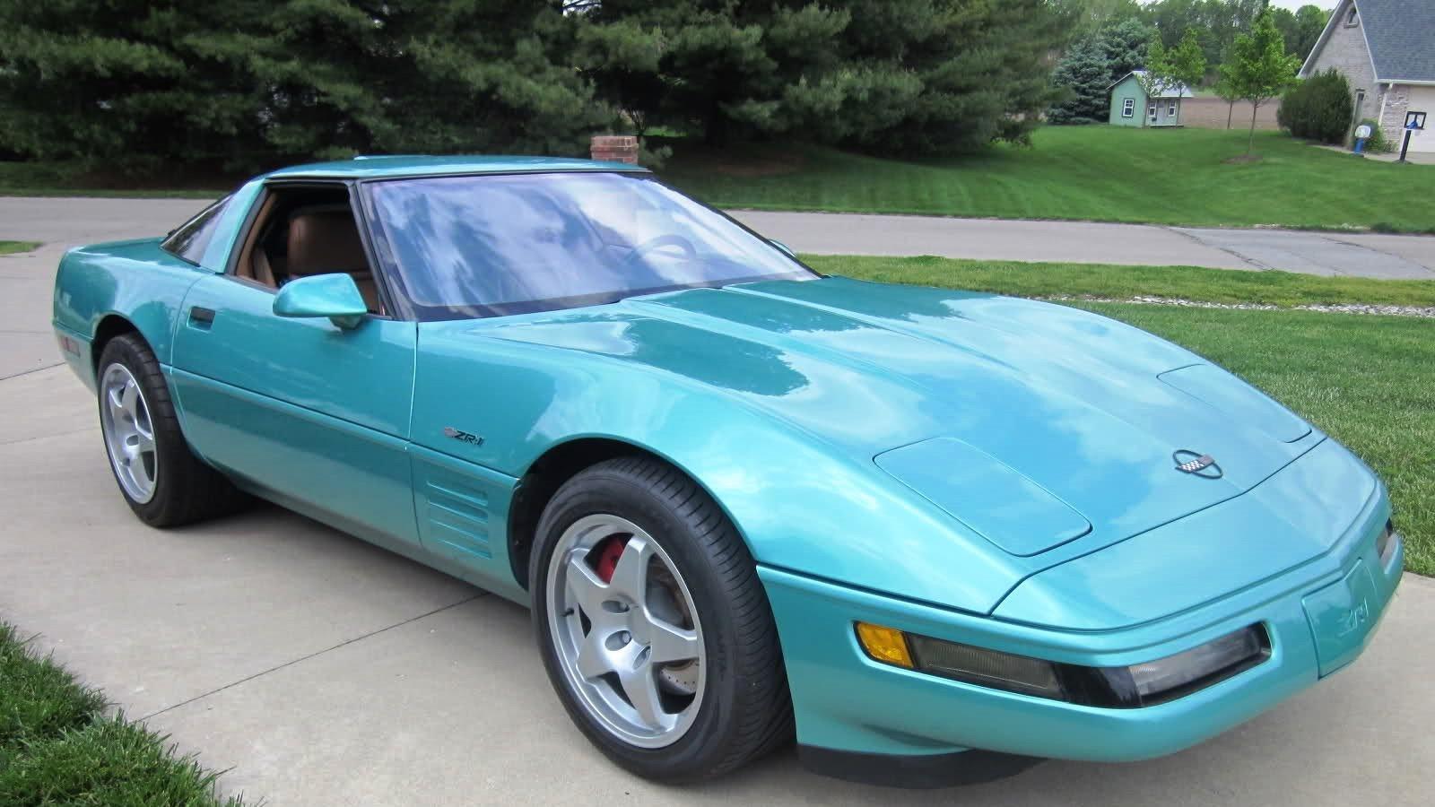 1990-91 Corvette in Turquoise