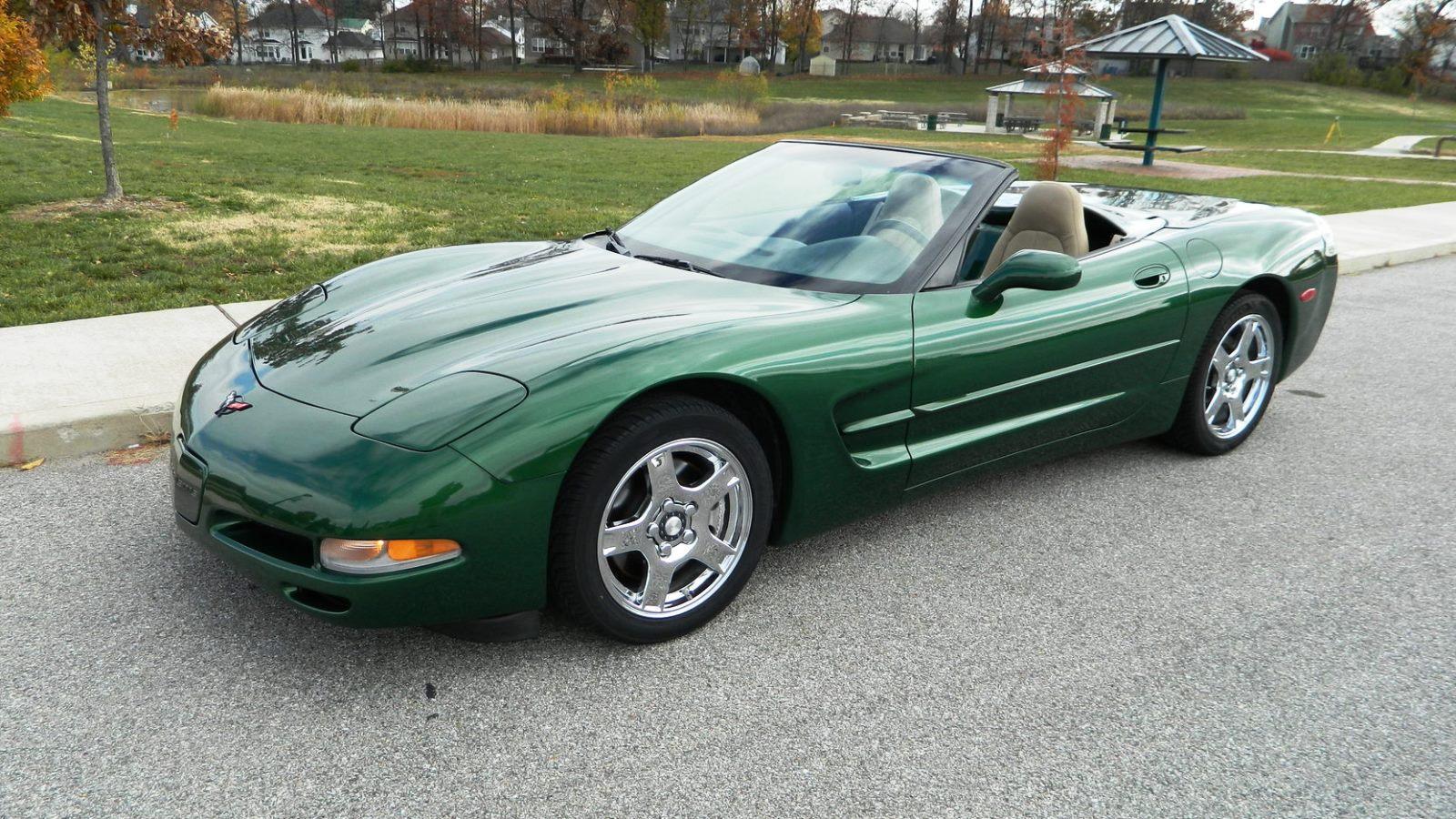 1997-98 Corvette in Fairway Green