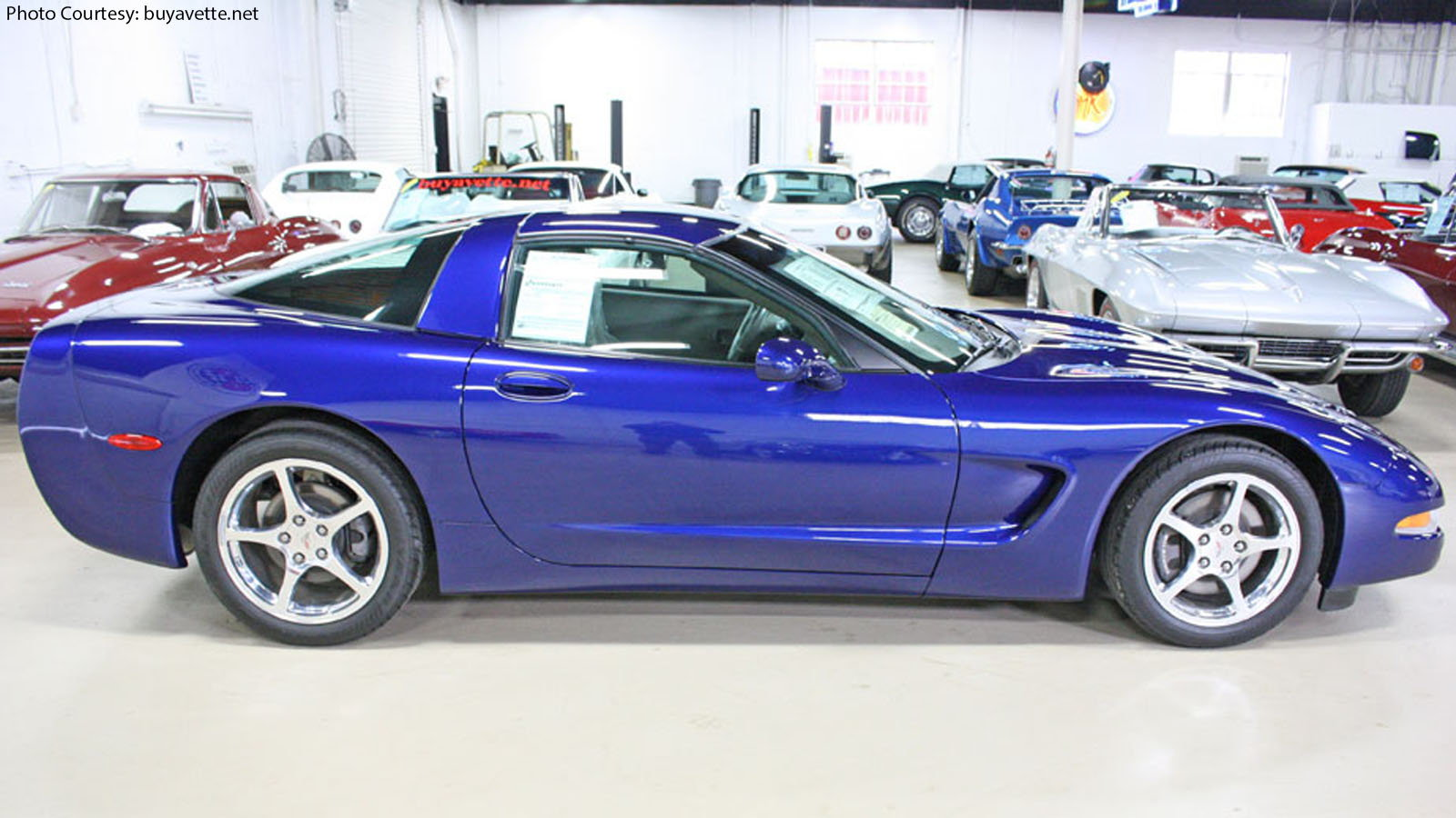 C5 Corvette, Last Production model