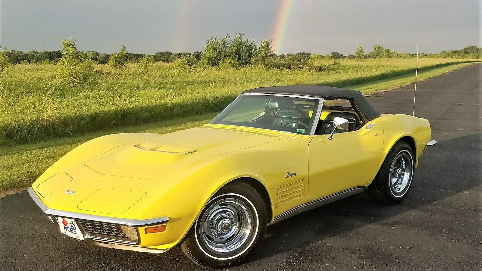 1970 Corvette LS5 454 Convertible Is a Remarkable Survivor