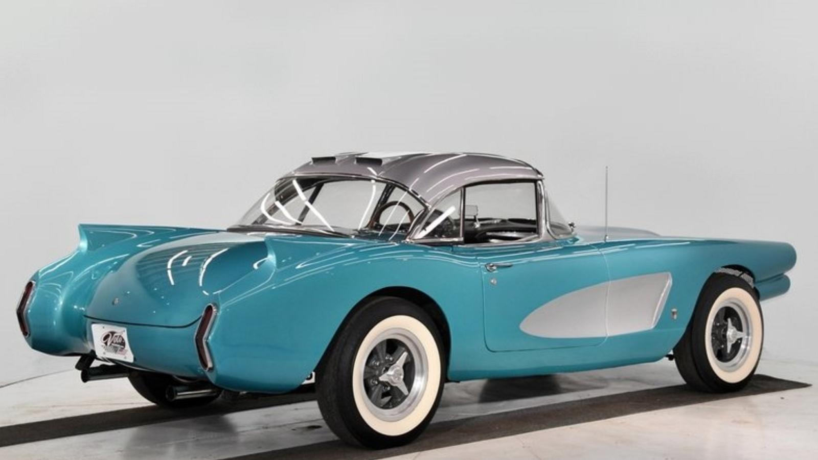 Historic, Wild 1958 Barris Custom Corvette up for Sale