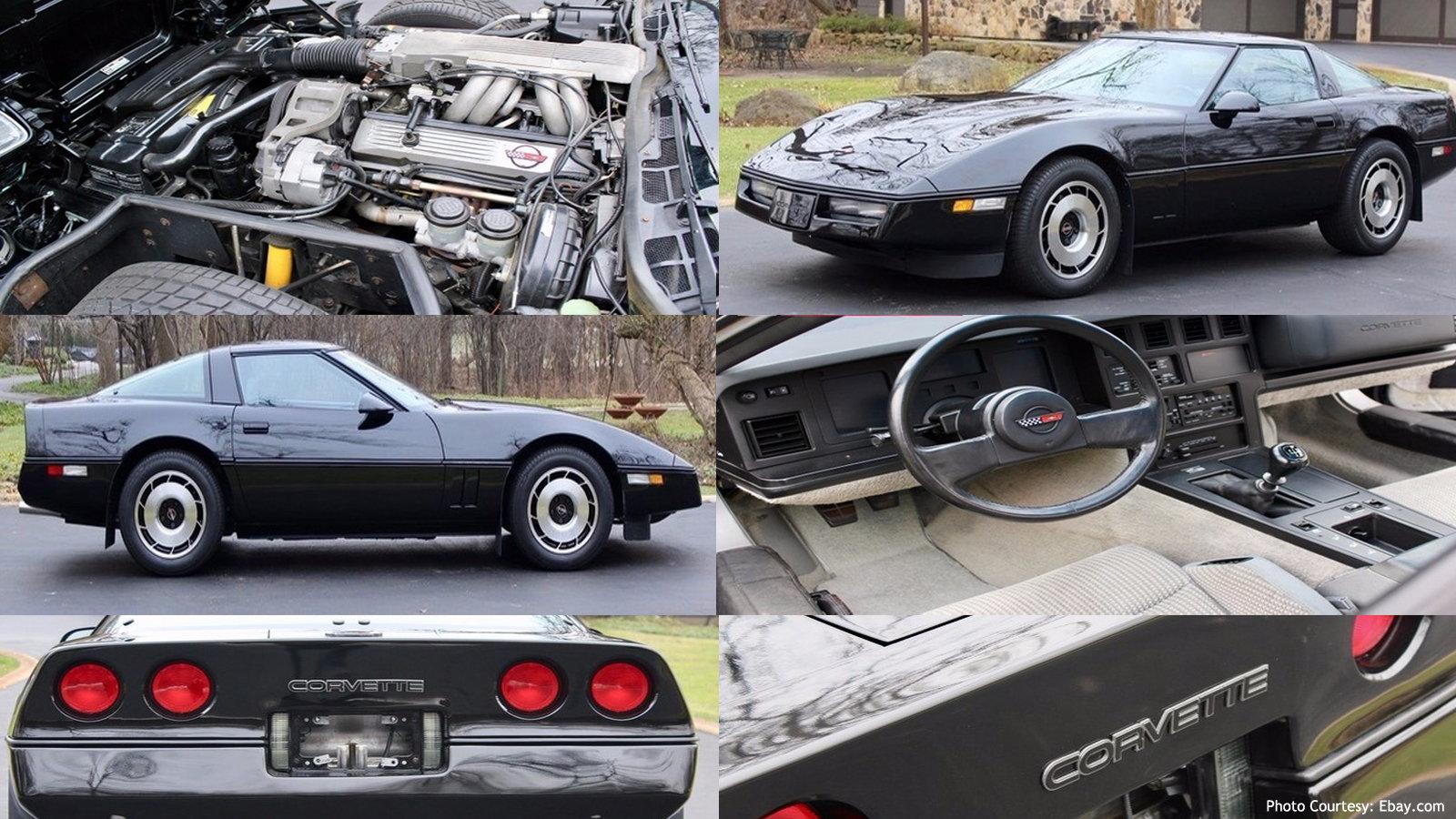 1985 C4 Chevrolet Corvette C4