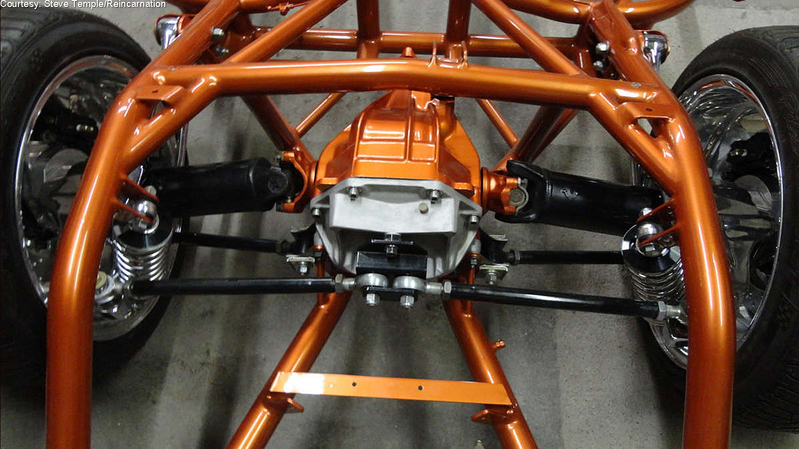 Is this the Ultimate C1 Corvette Chassis Upgrade?