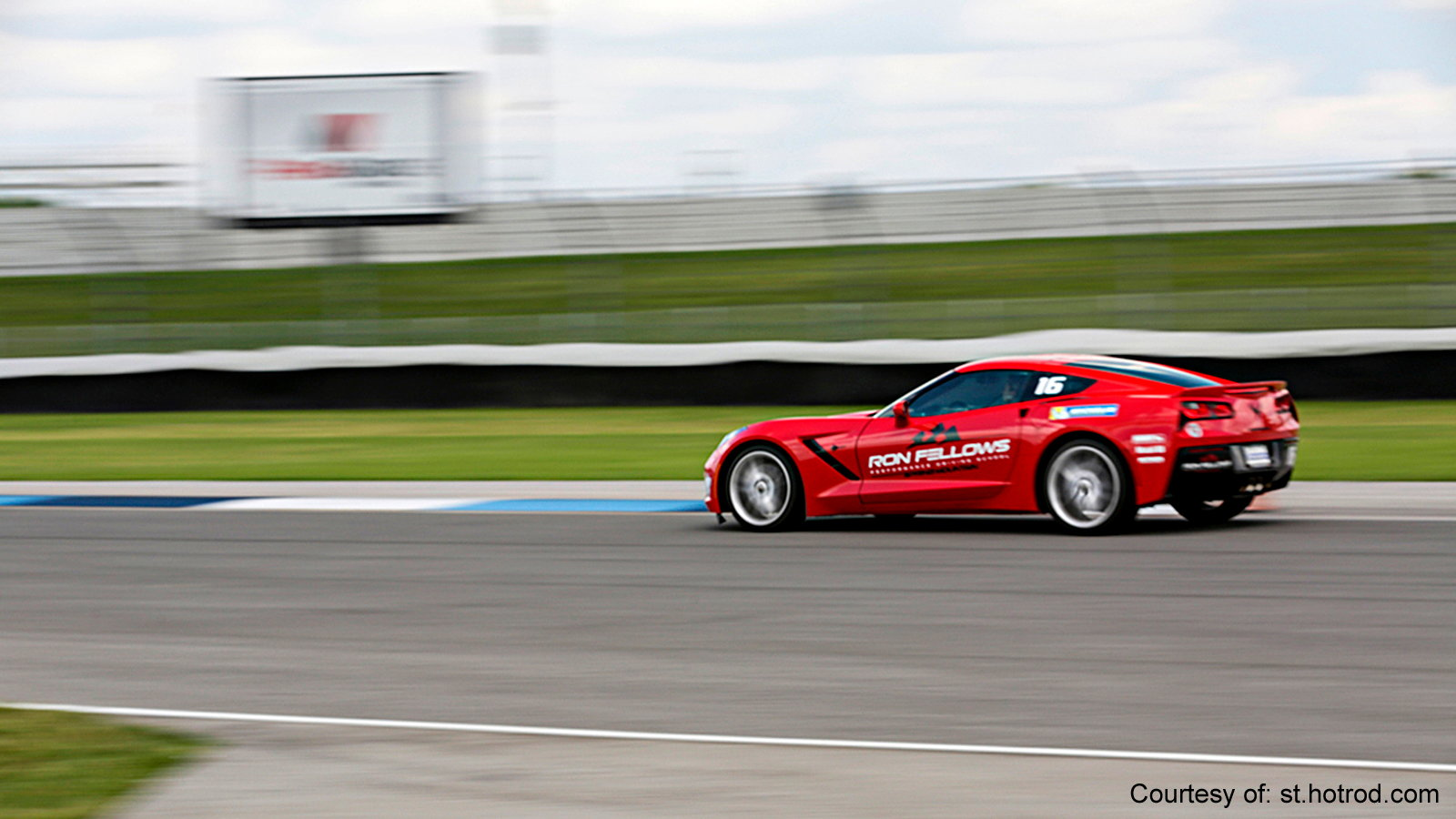 Drive a Corvette at the Indianapolis Speedway