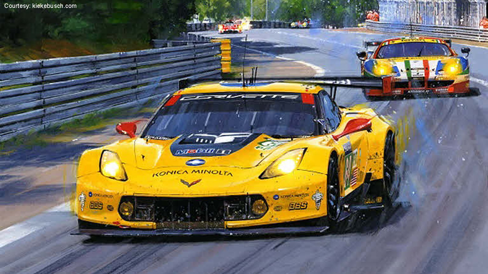 Corvette Sports Car