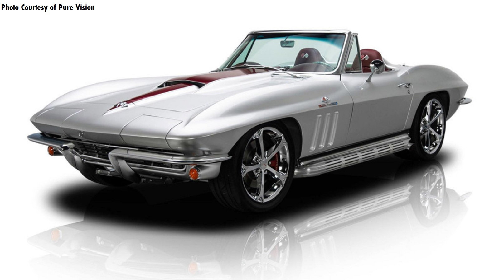 Joe Rogan's C2 Corvette Stingray Restomod