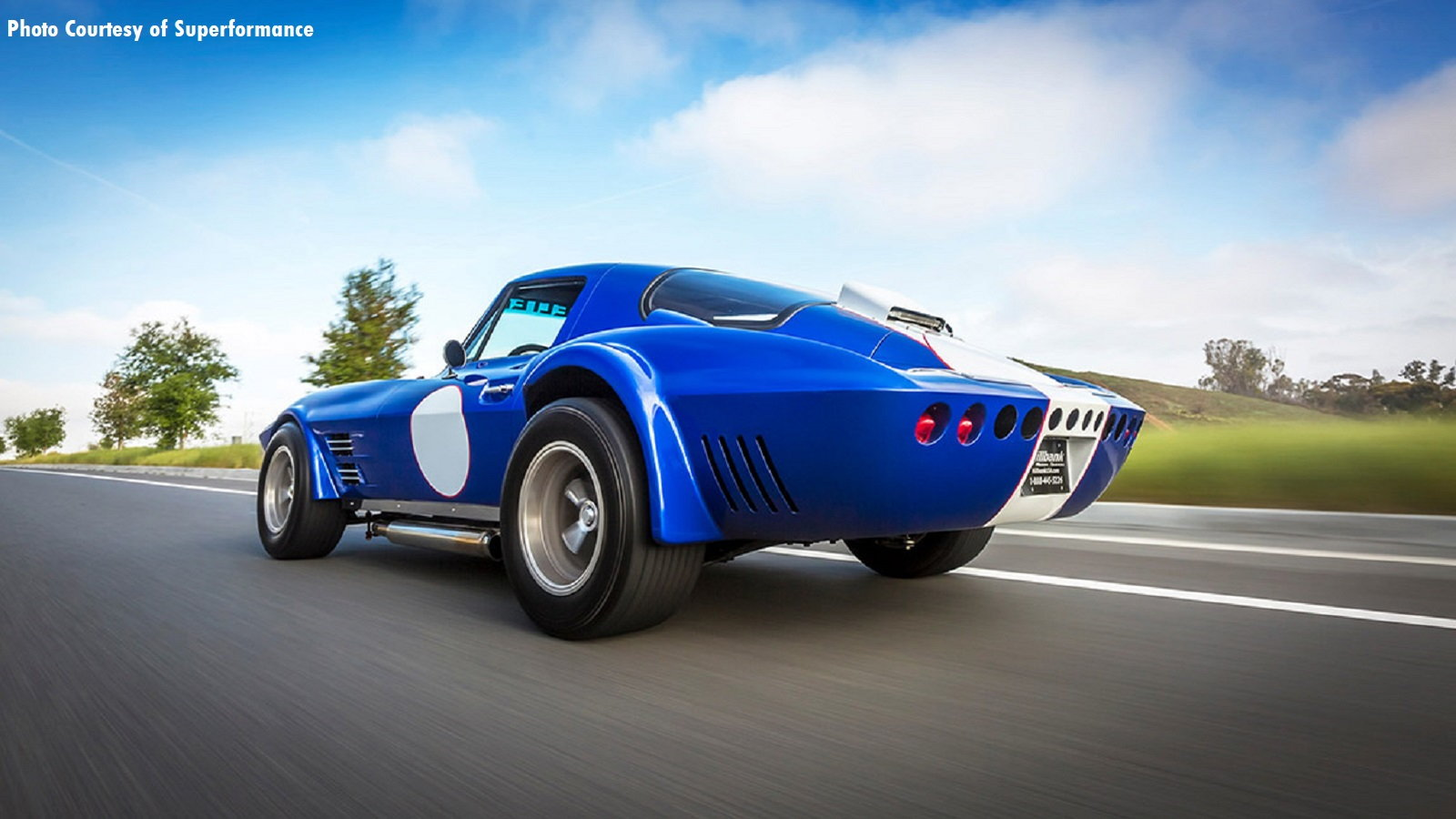 Superformance's Grand Sport Pop's up at Jay Leno's