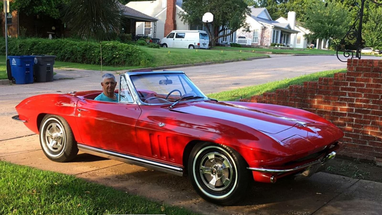 George Brock is Reunited with his 65 Corvette