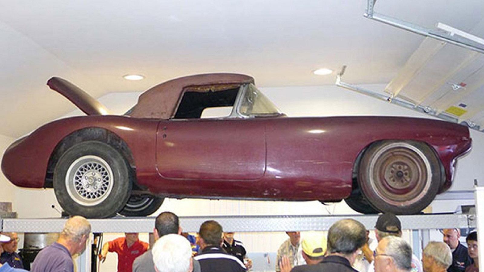 No. 1 Cunningham Corvette