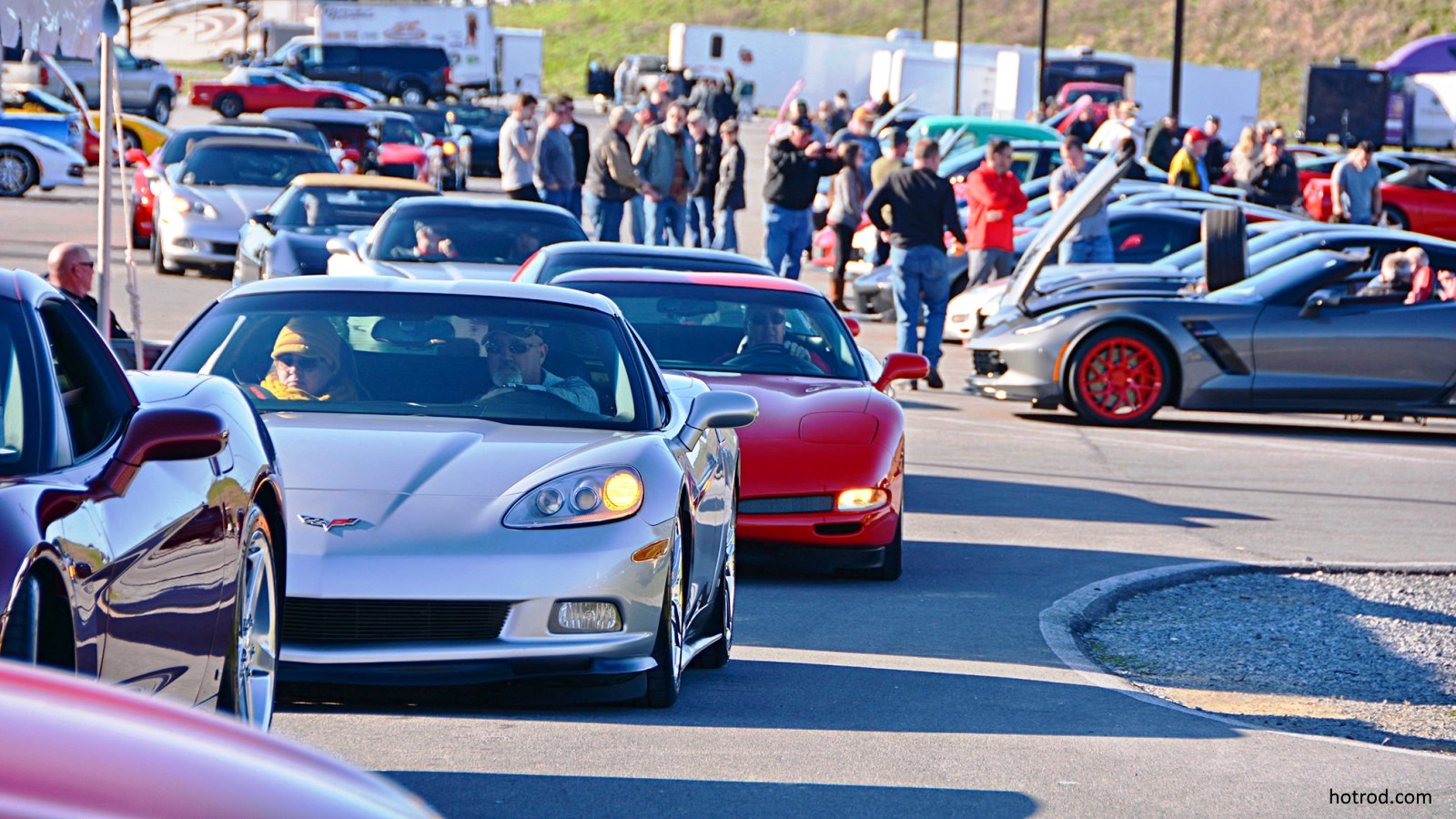 2018 Corvette Expo Cruises the Smokies