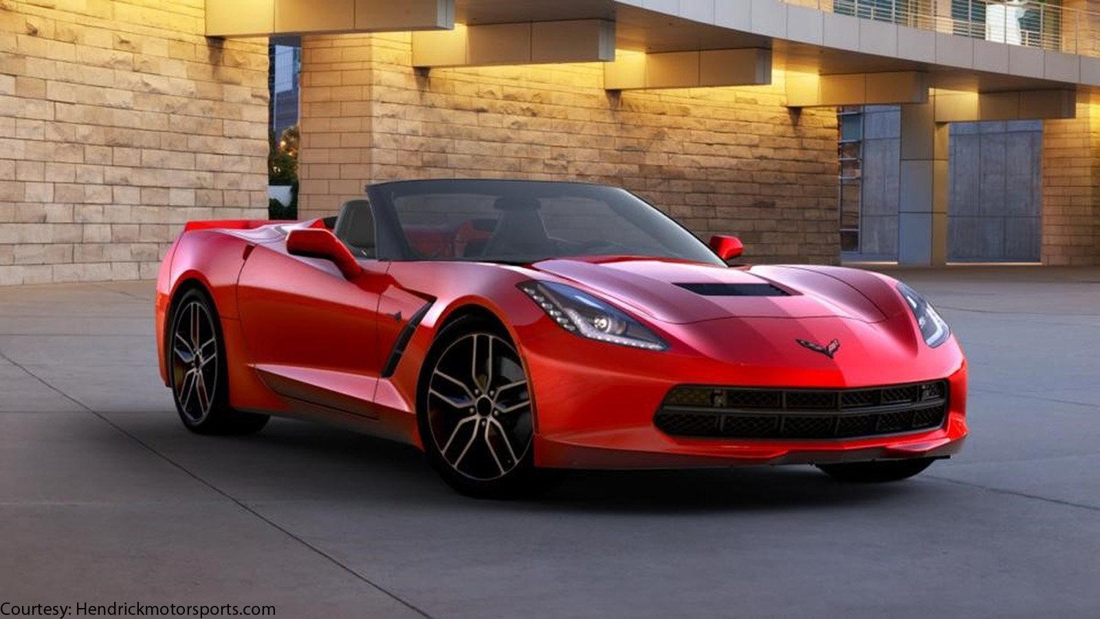 Jeff Gordon's 2016 Convertible Corvette
