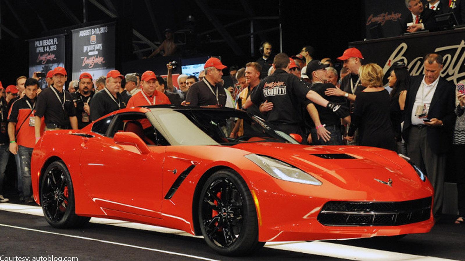 First C7 Corvette Convertible