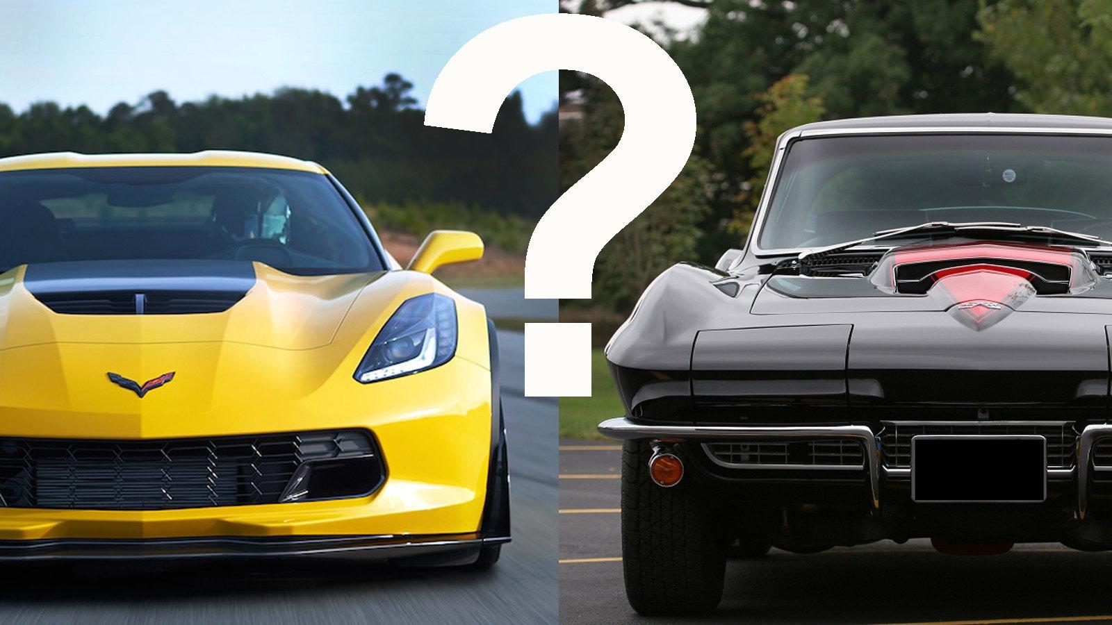 Classic vs Current Corvette