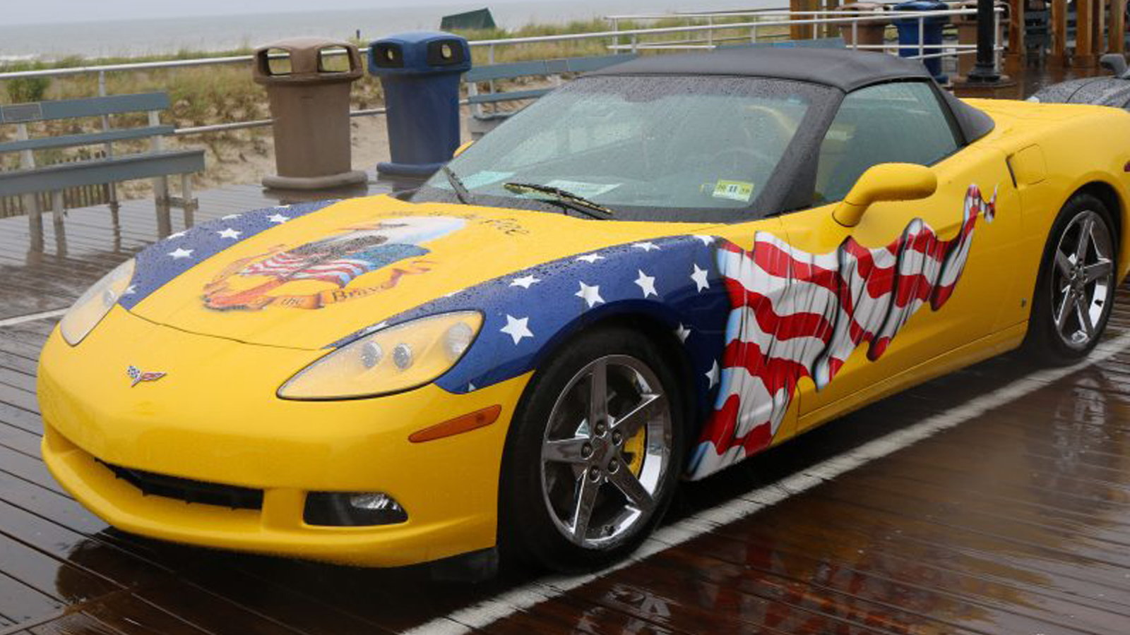 The Rainy Day 2018 Ocean City Corvette Show