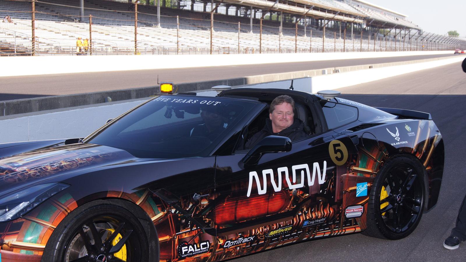 Sam Schmidt, ARROW Electronics, C7 Corvette Z06