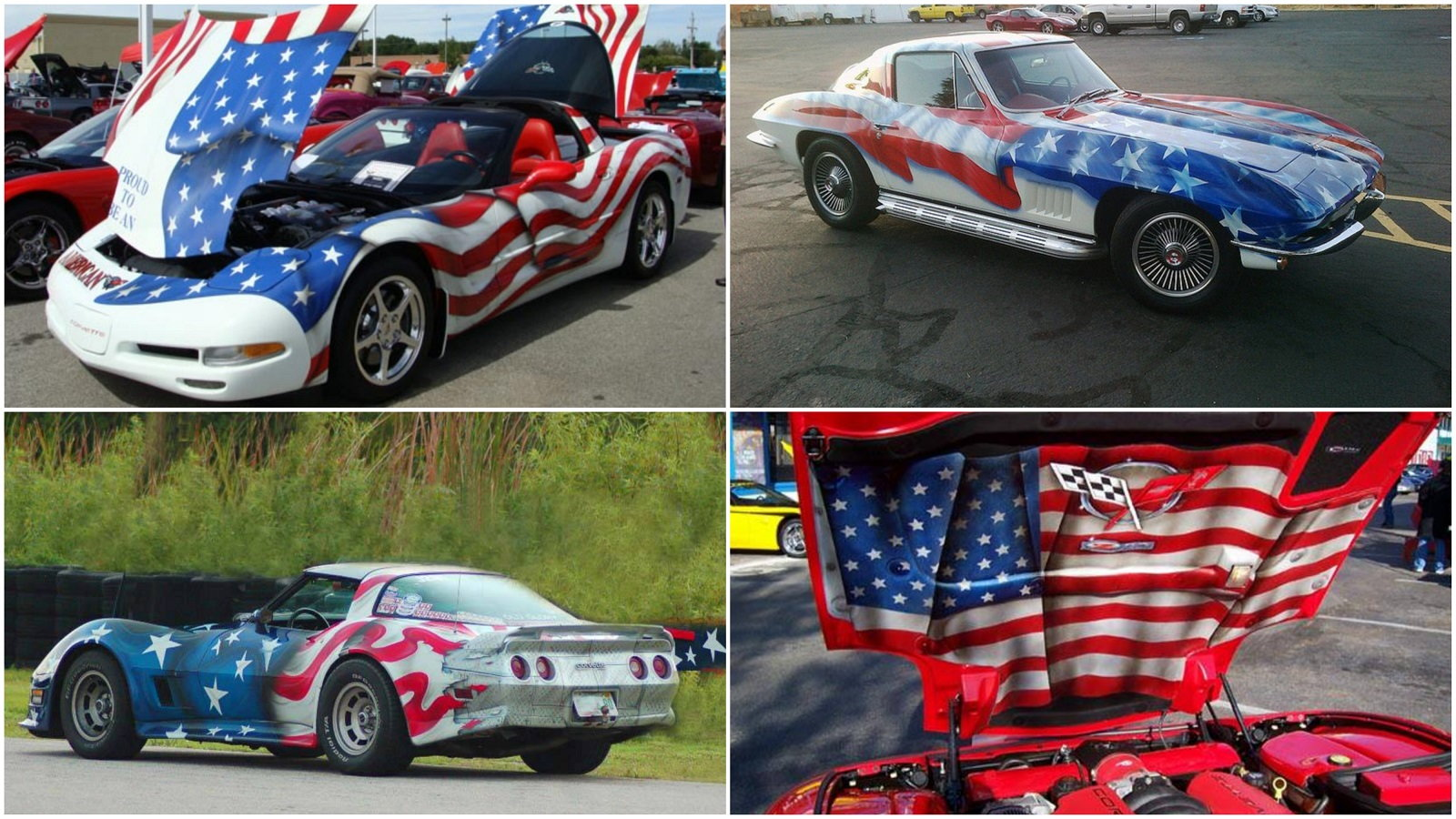Independence day, 4th of July, Corvette