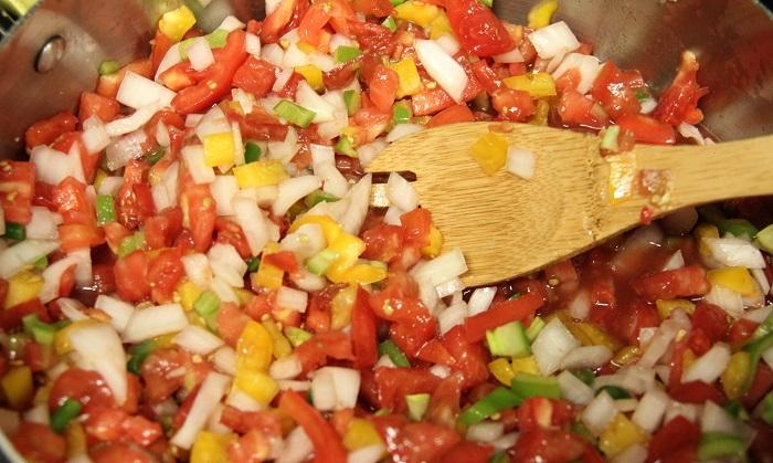 salsa vegetables
