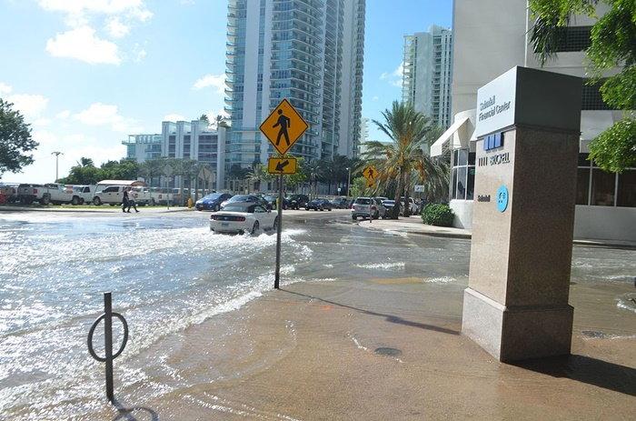 flooding on city streets