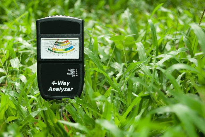 a soil meter