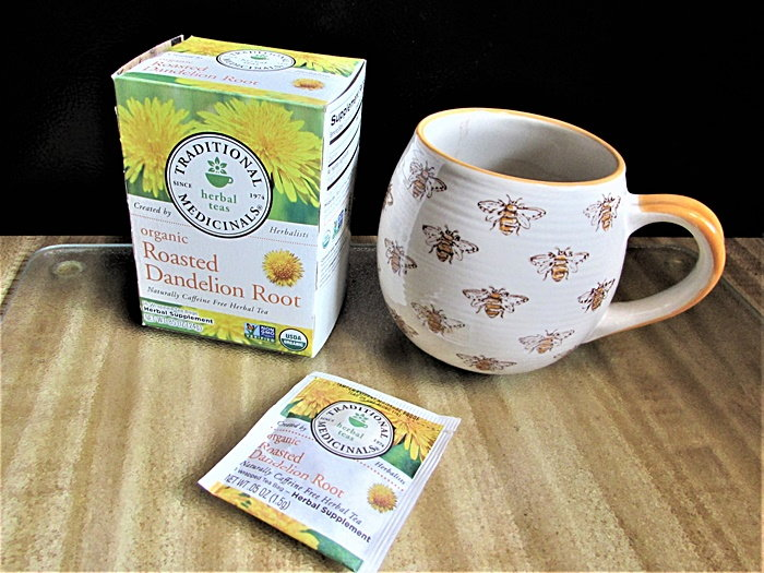 dandelion tea box
