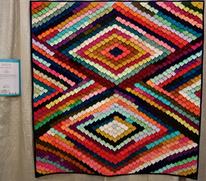 a pine cone quilt