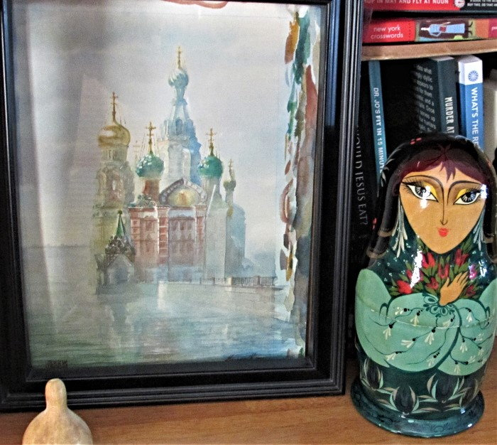 lovely painting of the Red Square