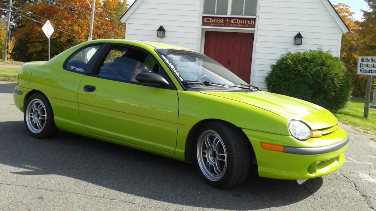 1995 Nitro Yellow Green Neon