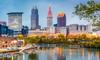 Cleveland, Ohio city skyline
