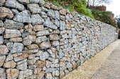 Granite Retaining Wall Construction