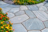 slate stone walkway