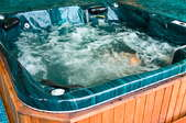jets in hot tub