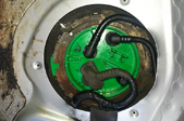 fuel pump in an engine