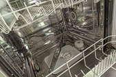 inside of a dishwasher