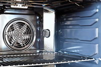A convection oven.