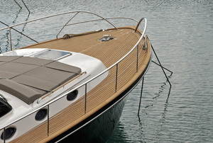 the front of a boat