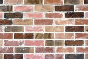 A brick backspash.