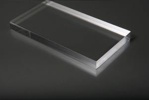Pexiglass on a black background.