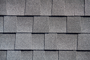 A close-up of gray shingles.
