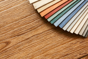 array of vinyl floor pattern choices
