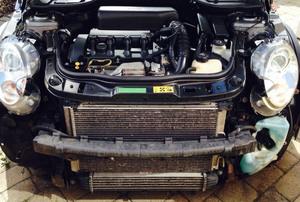 a car's radiator