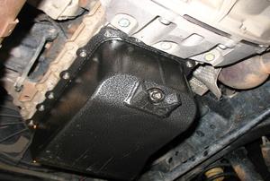 a Car Oil Pan