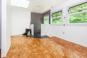Cork flooring.