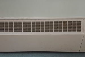 baseboard heater panels