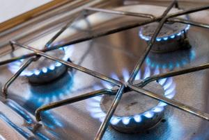 natural gas stove