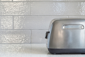 metal toaster on a Concrete Counter