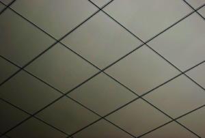 Ceiling tiles.