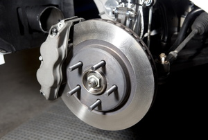 Brake calipers.