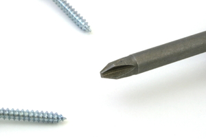 phillips head screwdriver with screws