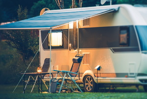 RV Awning Repair: Re-tensioning the Spring